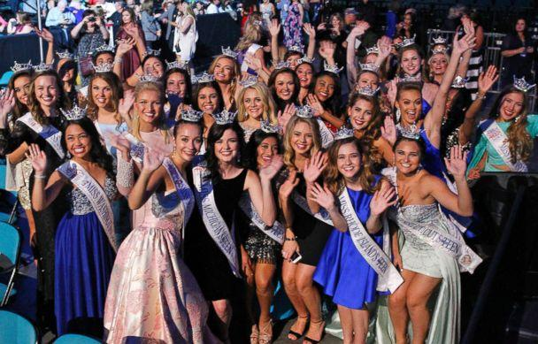 PHOTO: The 2018 Miss America Competition at Atlantic City's Boardwalk Hall, Sept. 10, 2017, in N.J. (Lou Rocco/ABC via Getty Images)