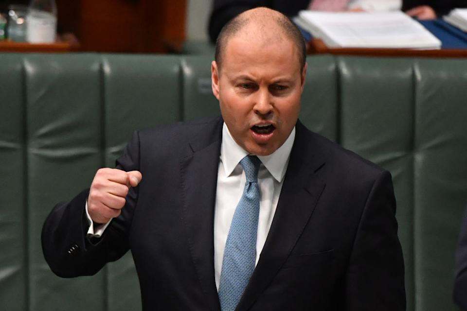 Treasurer Josh Frydenberg's latest speech on climate change signals a shift from the Coalition's stance on the issue. (Photo by Sam Mooy/Getty Images)
