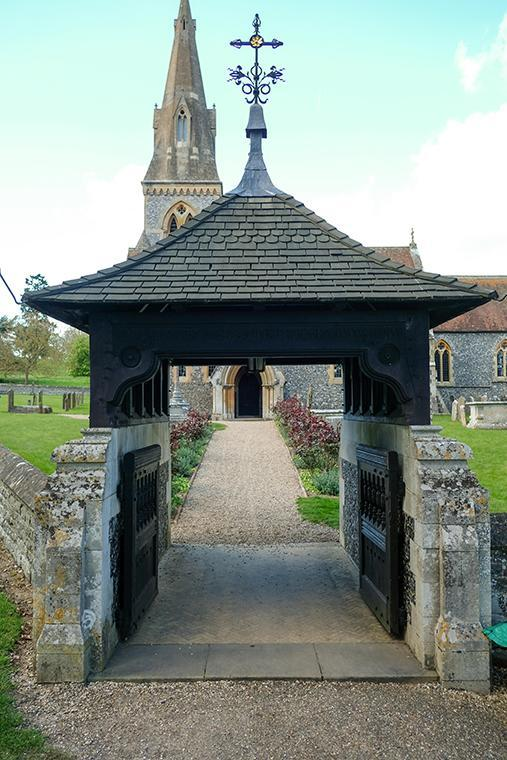 The picturesque church has been used for filming of The King's Speech and The Crown.