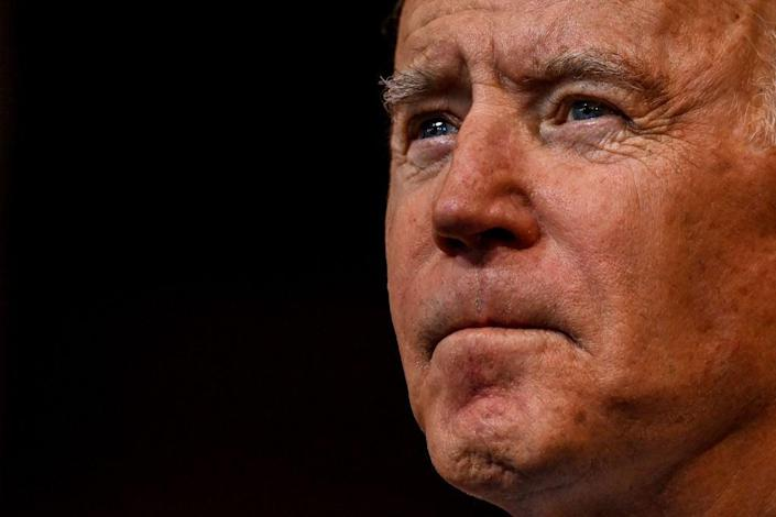 <p>Joe Biden is supposed to be sworn in on 20 January</p> (AFP via Getty Images)