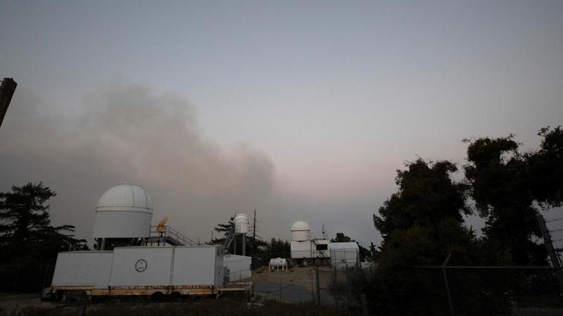 Huge wildfire in Southern California threatens historic observatory