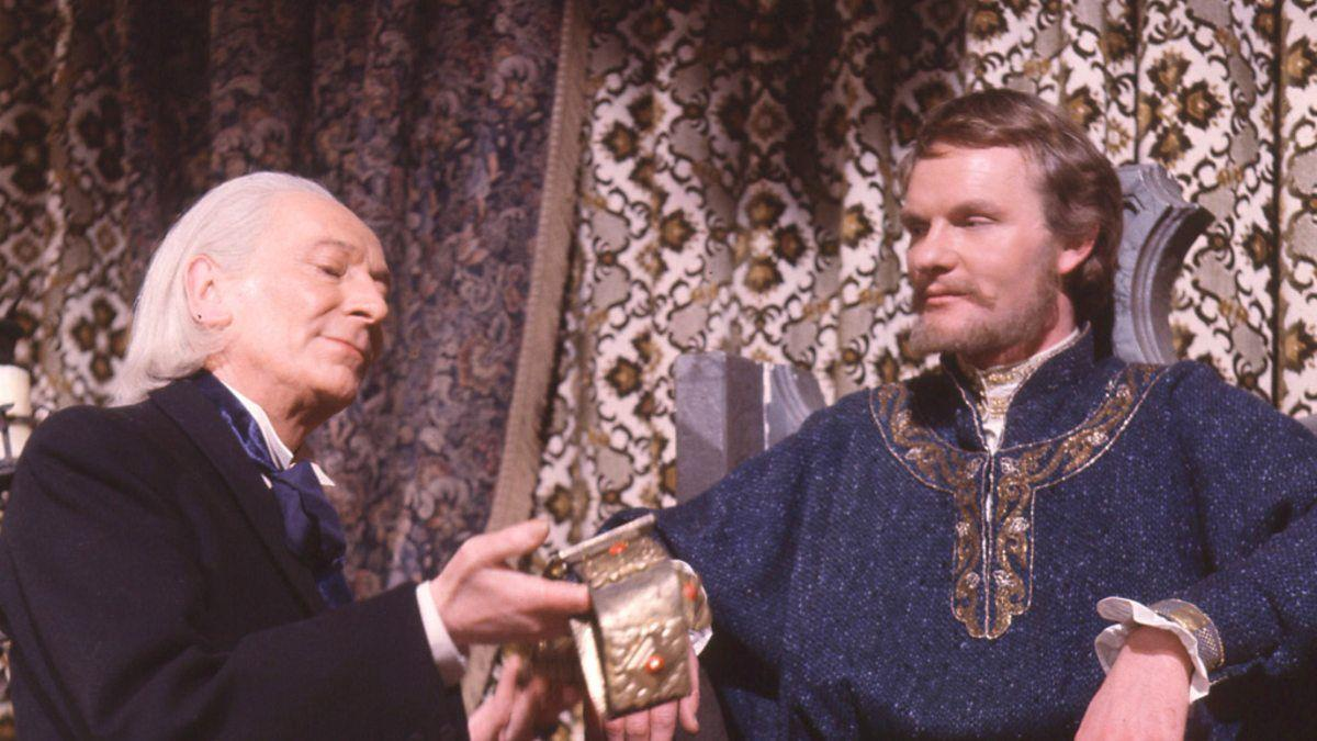 "<p>Episodes 2 and 4 of this four-parter are missing from the archives. But 'The Crusade', charting a holy war between the forces of King Richard the Lionheart and the Saracen ruler Saladin, was released to VHS in 1999, with companion actor William Russell reprising his role as an aged Ian Chesterton to help bridge the gaps, recounting what happened in the missing episodes.</p><p>The <a href=""https://www.amazon.co.uk/Doctor-Who-Lost-Time-DVD/dp/B0002XOZW4/"" target=""_blank""><em>Lost in Time</em> DVD boxset</a>, released in 2004, also contains the two surviving episodes, the audio soundtracks for episodes 2 and 4 and the bridging sequences featuring Russell.</p>"