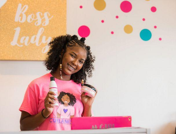 PHOTO: Lexi P. wants to teach over 1,000 girls how to be their own bosses and be the next kidpreneurs. (Curlanista)