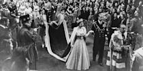 <p>The princess becomes Queen Elizabeth the Second. </p>