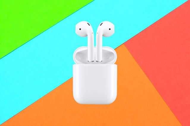 This is the lowest price we've seen on the Apple AirPods. (Photo: Walmart)