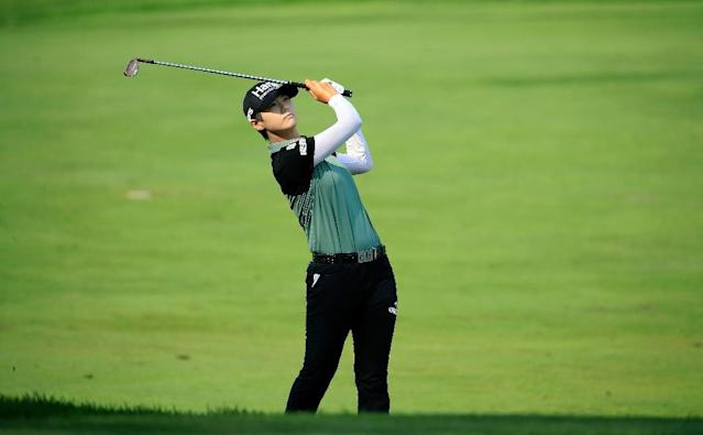 Park Sung-hyun's third victory of the season sees her vault from fourth in the rankings to supplant Thailand's Ariya Jutanugarn at the top (AFP Photo/ANDY LYONS)