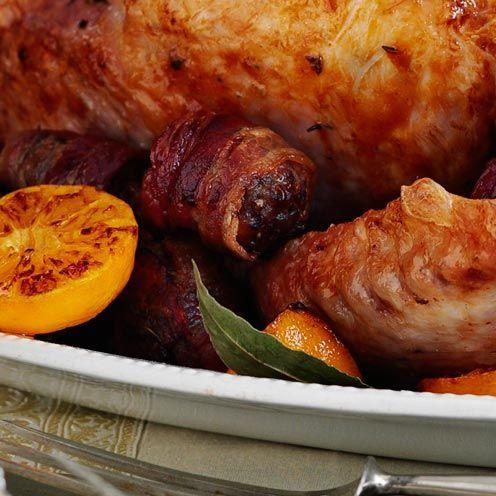 """<p>If you aren't planning on using this stuffing to fill the turkey, you can always halve it to just make balls.</p><p><strong>Recipe: <a href=""""https://www.goodhousekeeping.com/uk/food/recipes/a536017/pork-chestnut-apricot-stuffing-recipe/"""" rel=""""nofollow noopener"""" target=""""_blank"""" data-ylk=""""slk:Pork, chestnut and apricot stuffing"""" class=""""link rapid-noclick-resp"""">Pork, chestnut and apricot stuffing</a></strong></p>"""