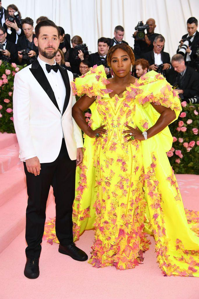 <p>Williams hid a pair or Off White x Nike trainers under her Versace gown at 2019's 'Camp' themed Met Gala.</p>