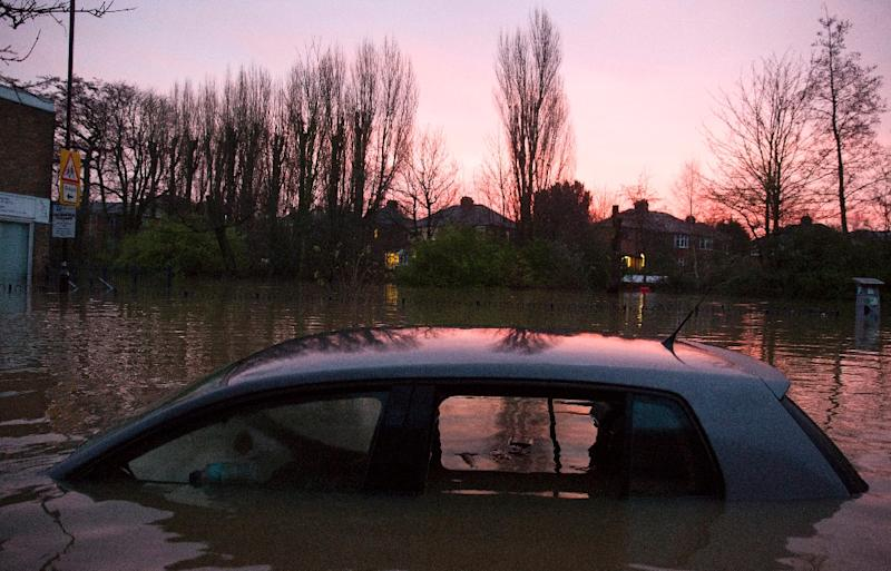Residential areas in York, northern England, were hit with devastating floods after the River Foss burst its banks on December 28, 2015