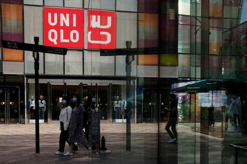 Uniqlo June sales seen strong, taking edge off pandemic woes