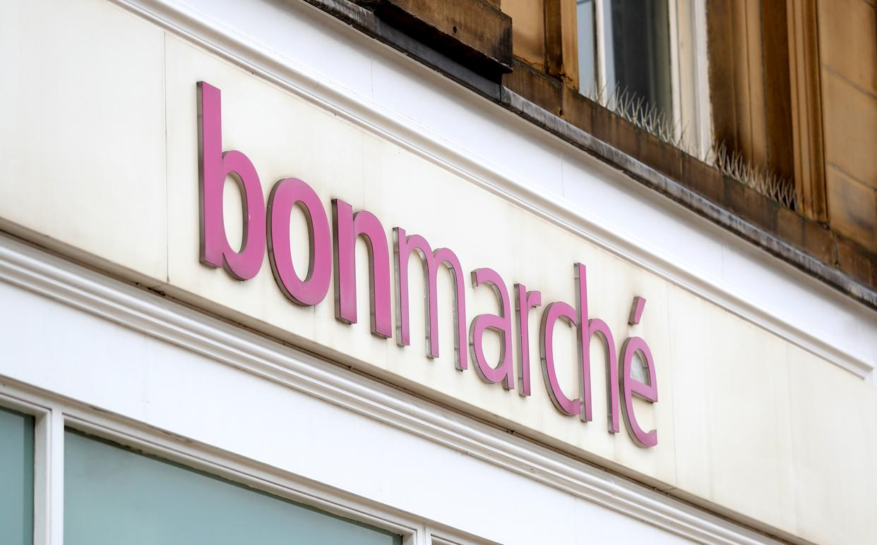Bonmarché fell into administration in the third high street collapse in three days. Photo: PA