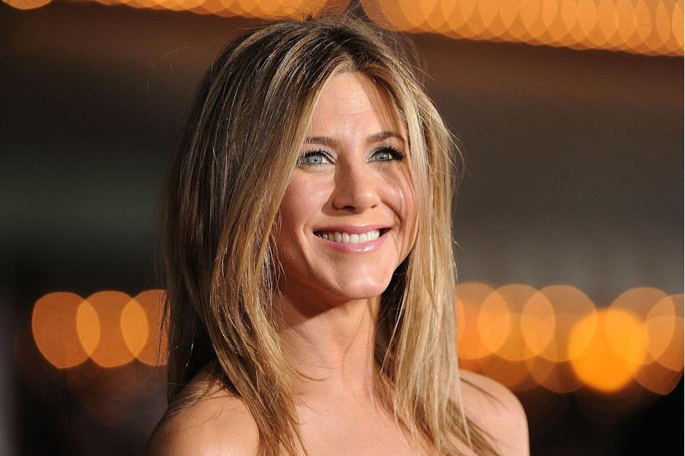 """<p>Aniston celebrated her 50th birthday with a star-studded party at the Sunset Tower Hotel in Los Angeles. Pitt, who was spotted at the venue, was among the guests, according to <a href=""""https://people.com/movies/brad-pitt-jennifer-aniston-50th-birthday-party/"""" rel=""""nofollow noopener"""" target=""""_blank"""" data-ylk=""""slk:People"""" class=""""link rapid-noclick-resp""""><em>People</em></a>.</p>"""