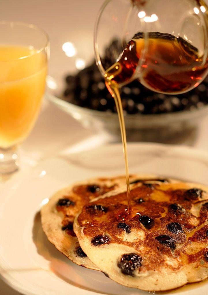 <p>Put on your favorite holiday onesie and sink your teeth into soft, fluffy pancakes for one of the most laid-back parties you'll ever host. Encourage your family and friends to wear their wackiest Christmas pajamas and see who can outdo each other. The winner gets a fresh stack of pancakes with their favorite toppings (okay, fine, everyone's a winner at this party!).</p>