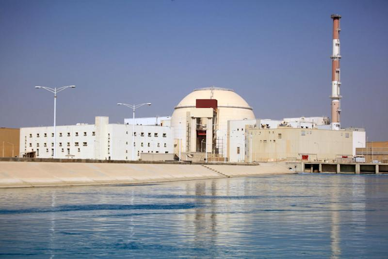 A view of the Bushehr Nuclear Power Plant in Iran. Source: Getty