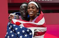 """<p>Biography: 24 years old</p> <p>Event: Women's 800m race</p> <p>Quote: """"There was a split second in the race where it's like, 'You should like try to go 'cause you can get a medal.' """"</p>"""