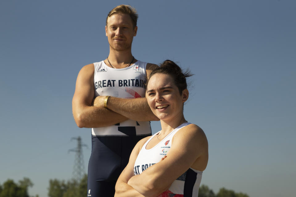 Rowers Lauren Rowles and Laurence Whiteley hold the Paralympic, world and European titles (Picture: Imagecomms)