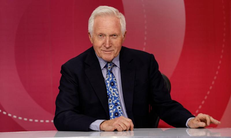 David Dimbleby is to step down as the host of BBC1's Question Time.