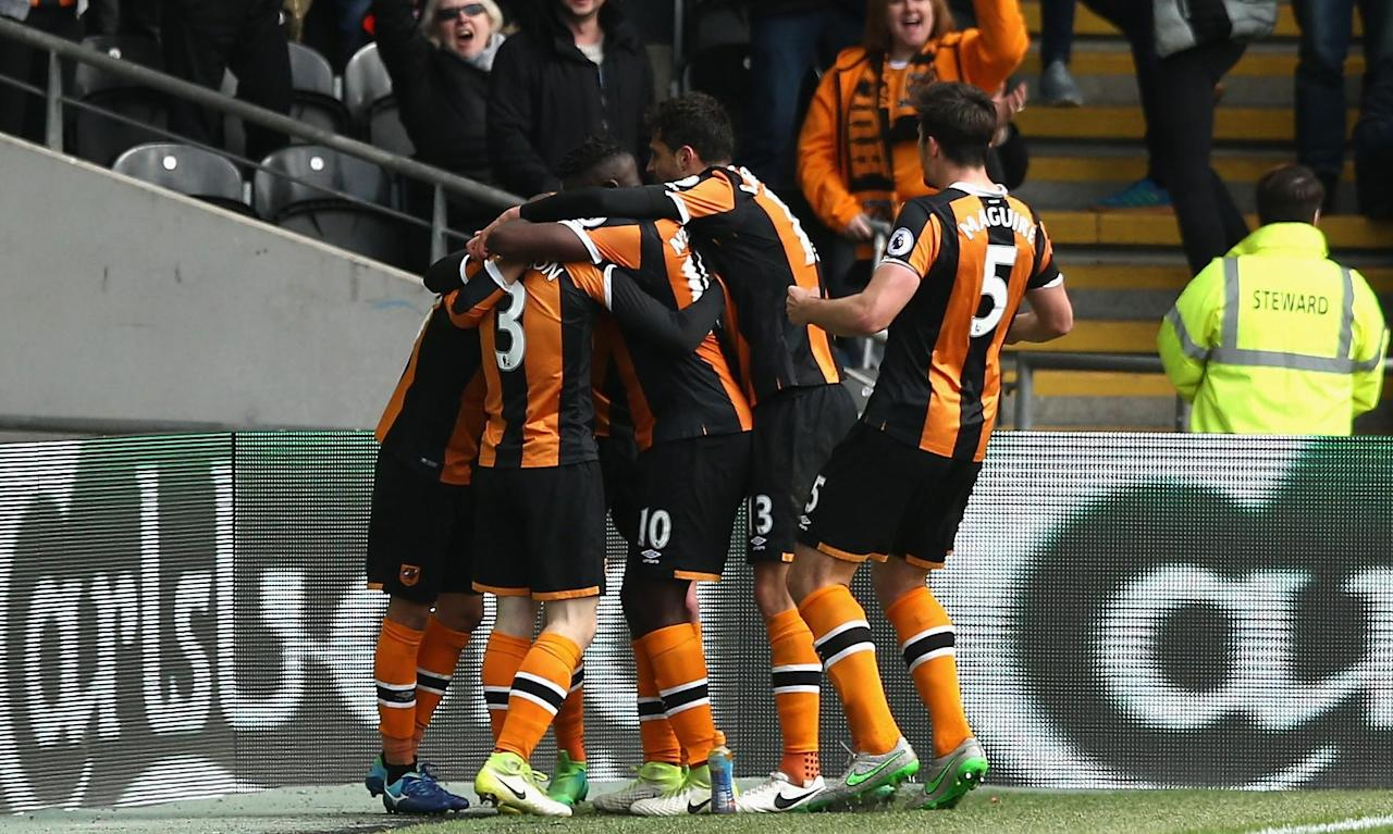 Ten-man Hull's Sam Clucas seals win over Watford to boost survival bid