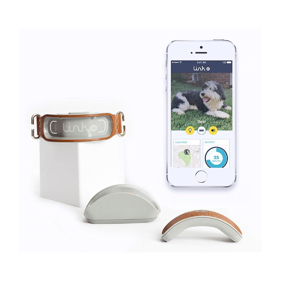 <p>This cool <span>LINK PLUS Smart Dog GPS Location Tracker</span> ($46, originally $99) will help them track exactly where their dogs are.</p>