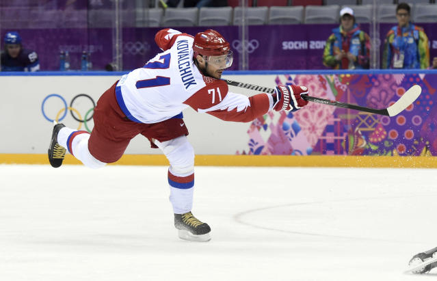 Ilya Kovalchuk's KHL team fires GM, coaches after playoff disaster