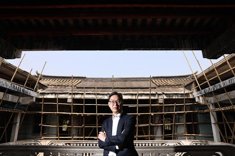 Augustine Wong says the whole project is a 'four-win solution'. Photo: K. Y. Cheng
