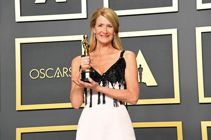 HOLLYWOOD, CALIFORNIA - FEBRUARY 09: Laura Dern, winner of the Actress in a Supporting Role award for