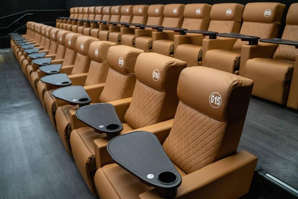 Studio Movie Grill opened in Prosperity Village just months before the coronavirus pandemic. The dine-in movie theater venue remains temporarily closed as the company emerges from bankruptcy.