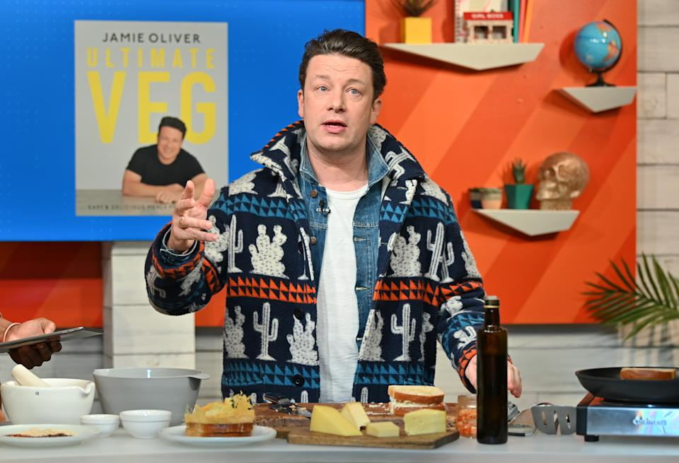 Jamie Oliver has lived in his Essex mansion since 2019. (Slaven Vlasic/Getty Images)