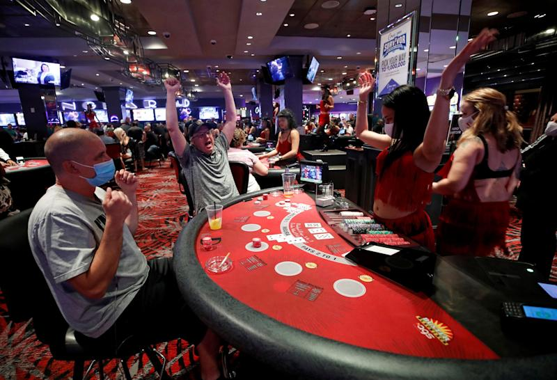 las vegas casinos reopen nevada lockdown coronavirus gambling