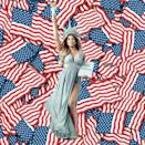 """<p>Laverne Cox was serving good patriotic Instagram. While reminding people that """"Trans is Beautiful,"""" Cox shared an important message. """"Here's to freedom and independence for all, now more than ever, for all,"""" she wrote. (Photo: Laverne Cox <a rel=""""nofollow noopener"""" href=""""https://www.instagram.com/p/BWISt4Cgj7z/"""" target=""""_blank"""" data-ylk=""""slk:via Instagram"""" class=""""link rapid-noclick-resp"""">via Instagram</a>)<br><br></p>"""