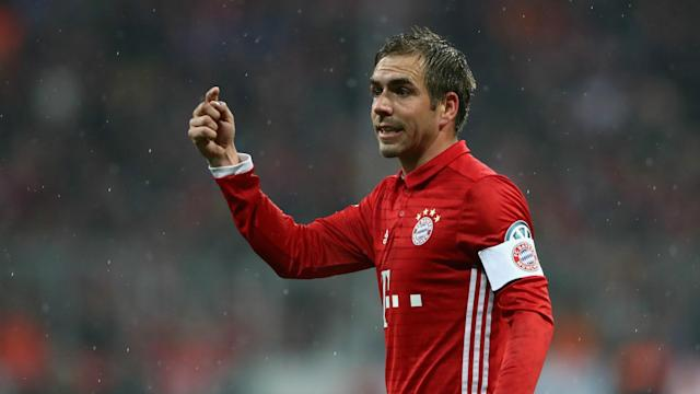 Winning the Bundesliga for an eighth time would be a lovely way for Philipp Lahm to end his career, the Bayern Munich captain says.