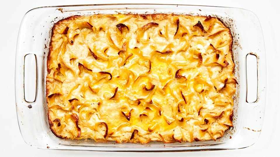 Your glass dish wants to be full of kugel.