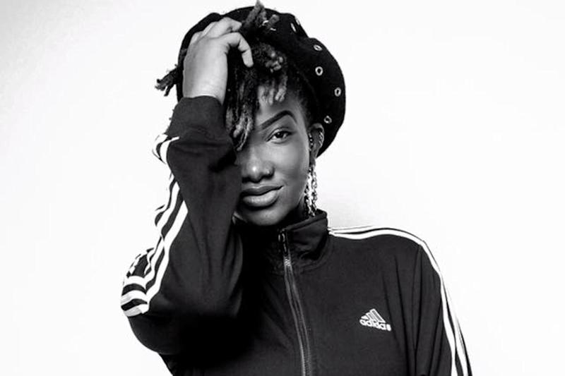 Paying tribute: Musician Ebony Reigns