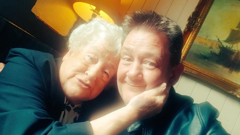 Johnny Vegas's mother Patricia Pennington has died (Credit: Twitter/Johnny Vegas)