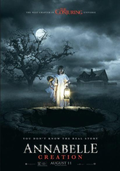 Annabelle: Creation hit movie theatres this past weekend. Source: New Line Cinema