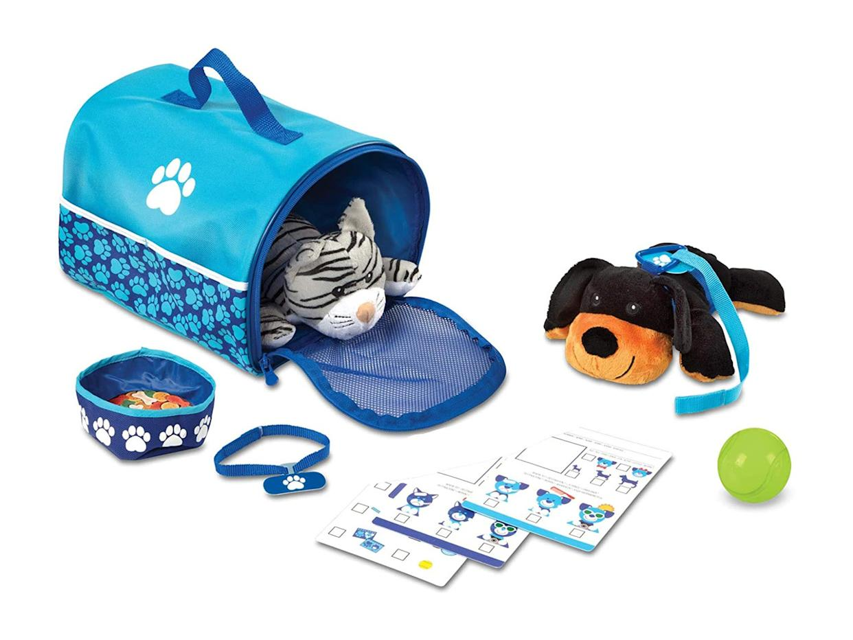 Teach children about pet care with this playsetAmazon