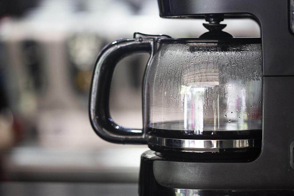 <p>Sure, you wash the pot and empty the filter after each use, but when was the last time you cleaned the inside of your coffee machine? The insides can get pretty filthy, and you don't want any of that sneaking its way into your morning coffee. </p><p><strong>How to clean</strong>: Most coffee machines will have specific instructions in the manual on how to descale them. For most, you can just brew a pot filled with white vinegar and water and then wash it out with warm soapy water. </p>