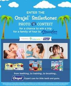 Makers of Orajel(TM) Invite Parents to Share Their Child's Smiling Milestone