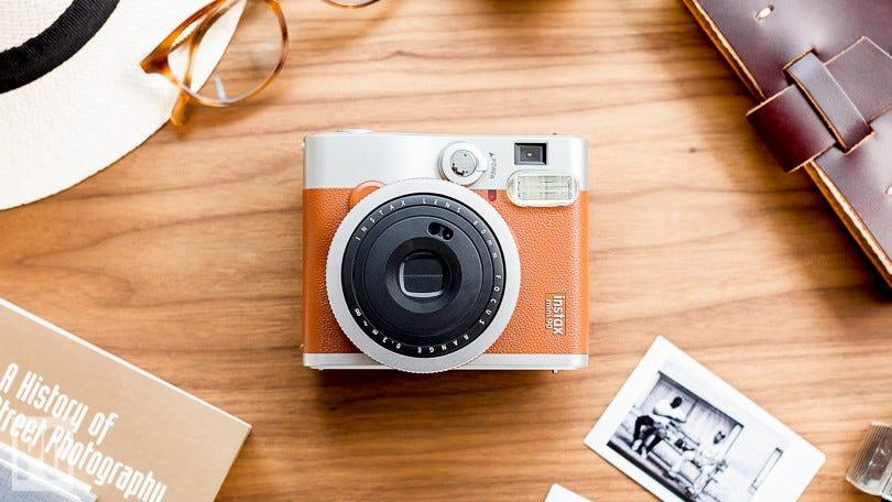 The best gifts for travelers: Fujifilm Instax Mini 90 Neo Classic Camera