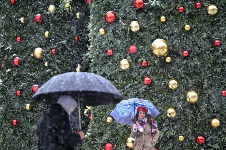 The snow began falling the day after Spain celebrated King's Day, the last of the Christmas festivities