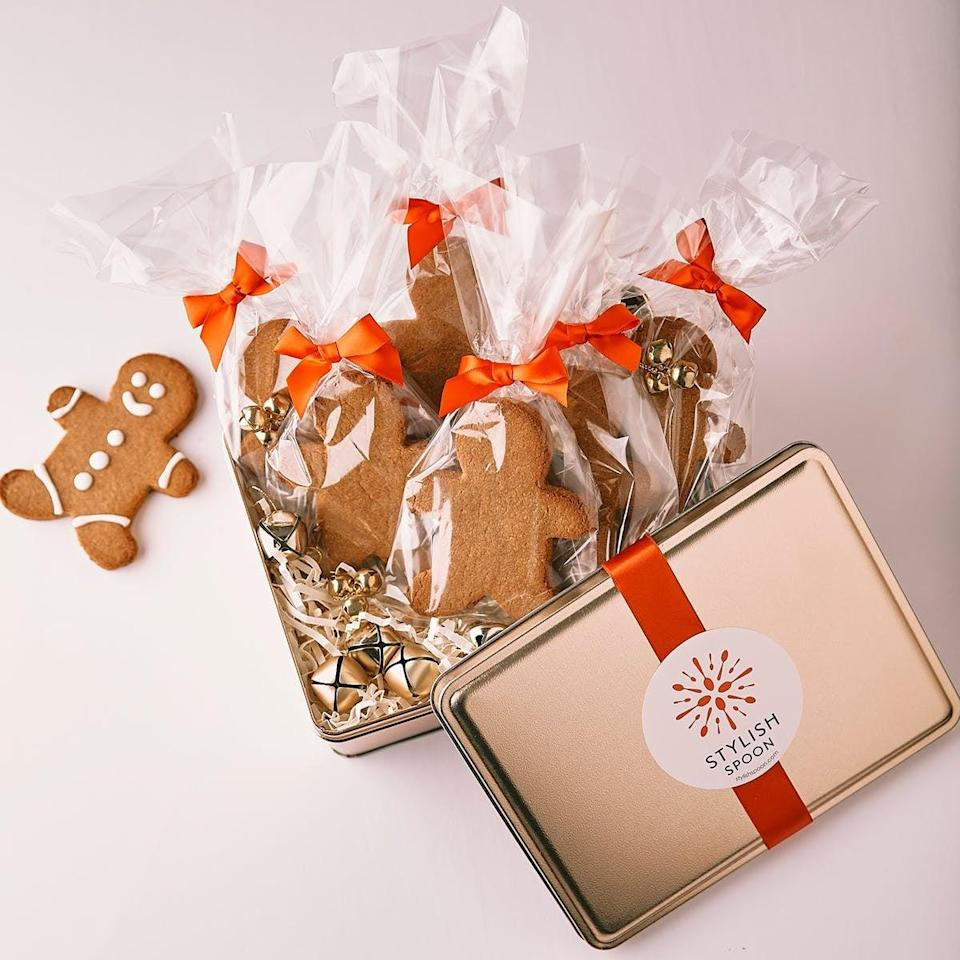 <p>Another video-chat idea: send your loved ones <span>Stylish Spoon's Gluten-Free Vegan Gingerbread Man Decorating Kit</span> ($69), so you can all do some decorating separately yet together.</p>