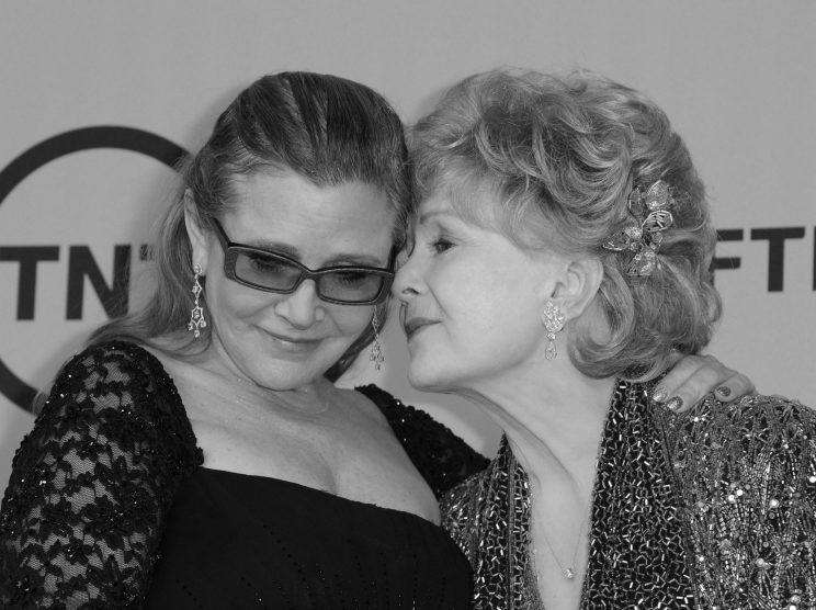Debbie Reynolds und Carrie Fisher. (Bild: Getty Images)