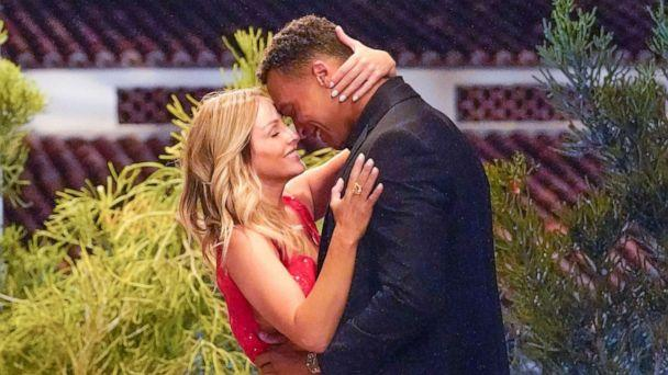 PHOTO: Clare's romantic situation is close to the tipping point as 16 of her remaining men are hopelessly confused about where they stand with her on ABC's 'The Bachelorette.' (Craig Sjodin/ABC)