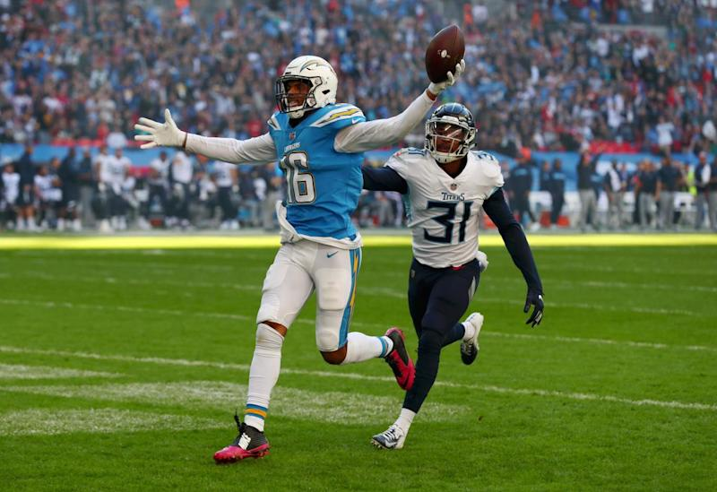 Williams' touchdown got the Chargers off and running. (Getty Images)