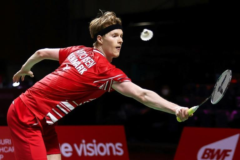 Denmark's Anders Antonsen beat countryman Viktor Axelson in the men's singles final at the World Tour Finals badminton tournament in Bangkok