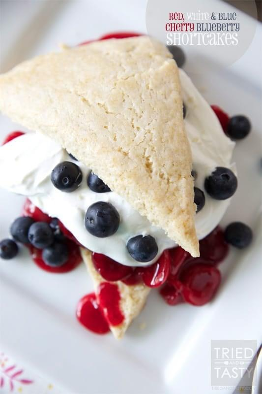 """<p>Don't these <a href=""""https://triedandtasty.com/cherry-blueberry-shortcakes/"""" class=""""link rapid-noclick-resp"""" rel=""""nofollow noopener"""" target=""""_blank"""" data-ylk=""""slk:Red White &amp; Blue Cherry Blueberry Shortcakes"""">Red White &amp; Blue Cherry Blueberry Shortcakes</a> look delicious?! We love how adding babies can add a fresh touch.</p>"""