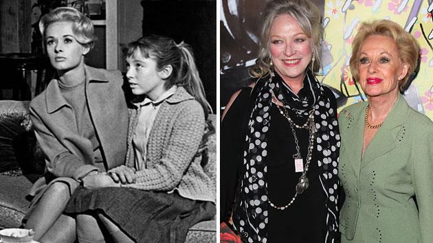 Tippi Hedren and Veronica Cartwright