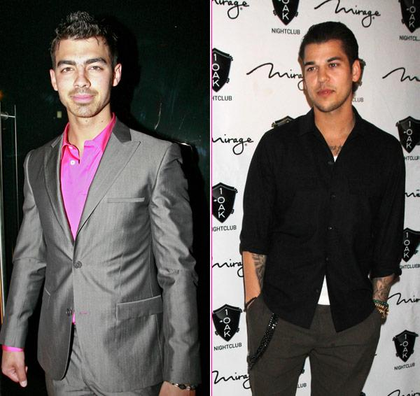 Rob Kardashian & Joe Jonas Judging Miss USA Pageant