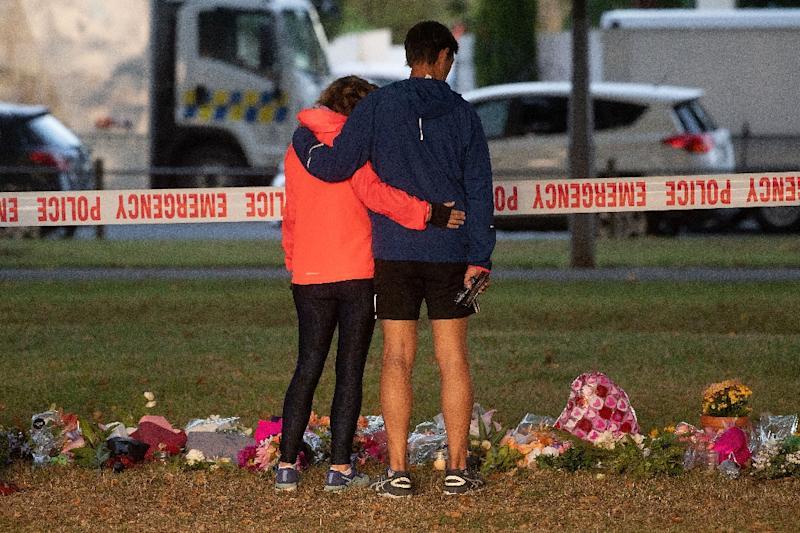 New Zealand moved swiftly to ban semi-automatic weapons after a massacre, but despite dozens of mass shootings in the United States, little has been done to curb America's gun violence (AFP Photo/Marty MELVILLE)