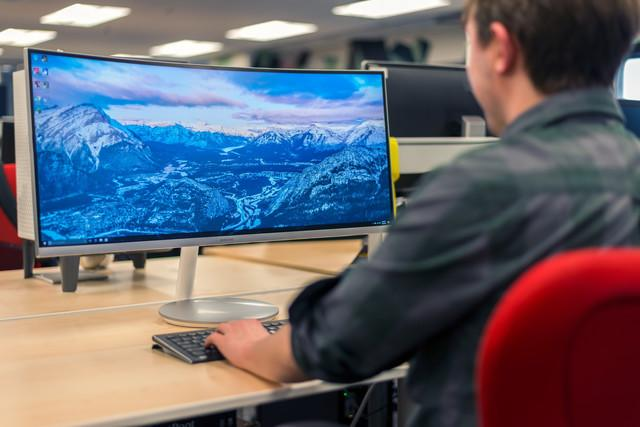 best ultra wide monitors samsung cf monitor review